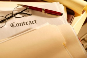 As part of our service we can help draft the contract.