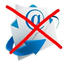 Don't email