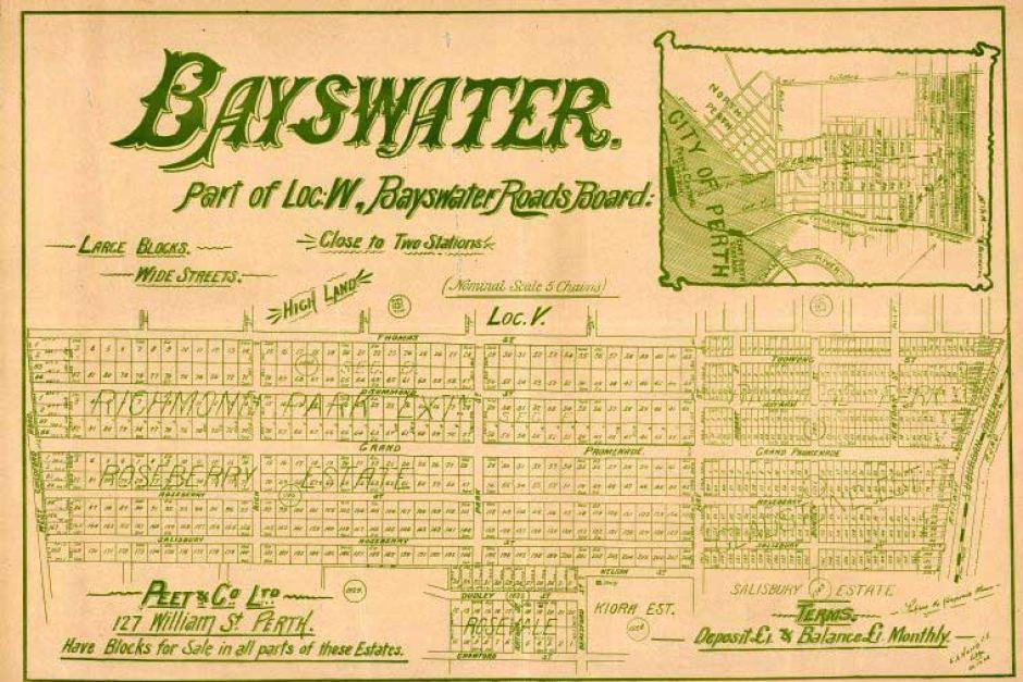 Bayswater real estate poster peet & co