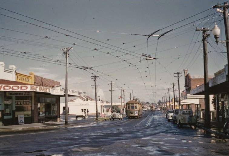 inglewood tram beaufort street looking south