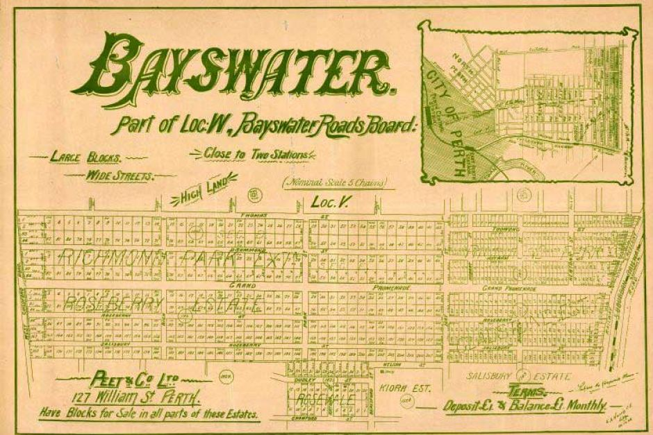 Bayswater real estate poster peet & co